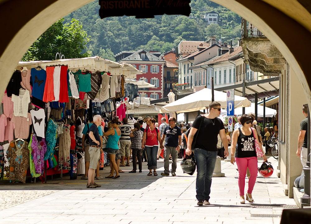 Shopping am Lago Maggiore