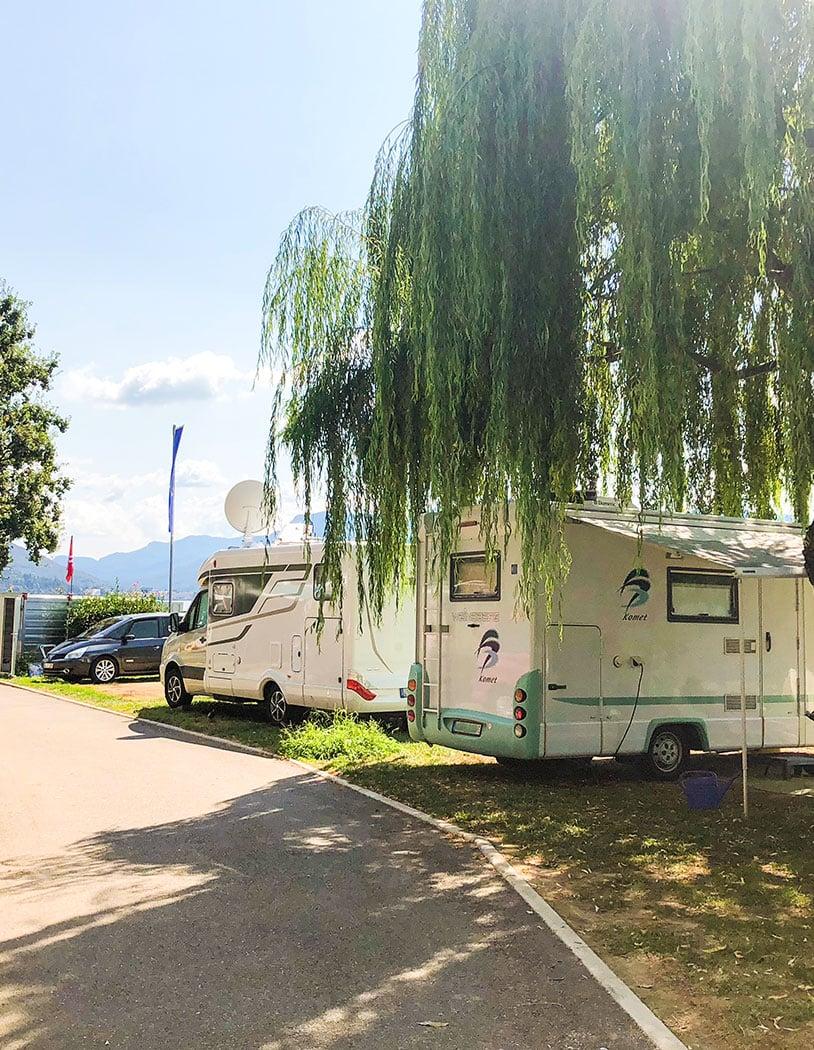 Camping in Italien