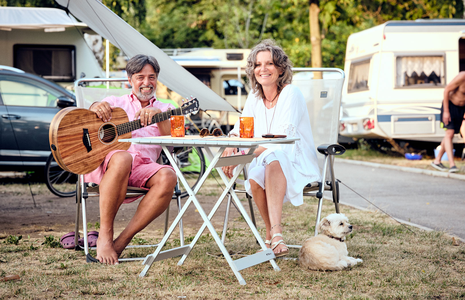 entspanntes Camping in Nord-Italien