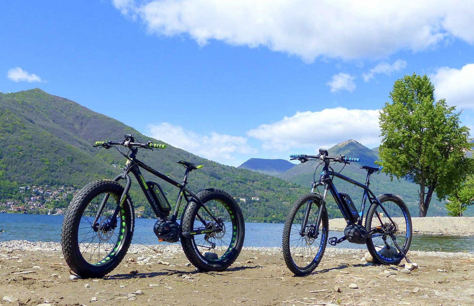 Fahrradfahren rund um den Lago Maggiore