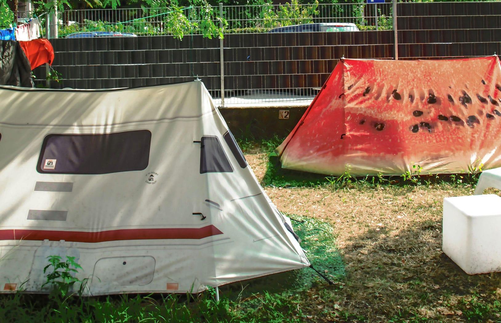Unsere außergewöhnlichen Zelte mieten