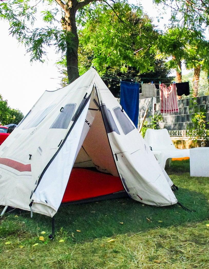 Zelte in Nord-Italien mieten