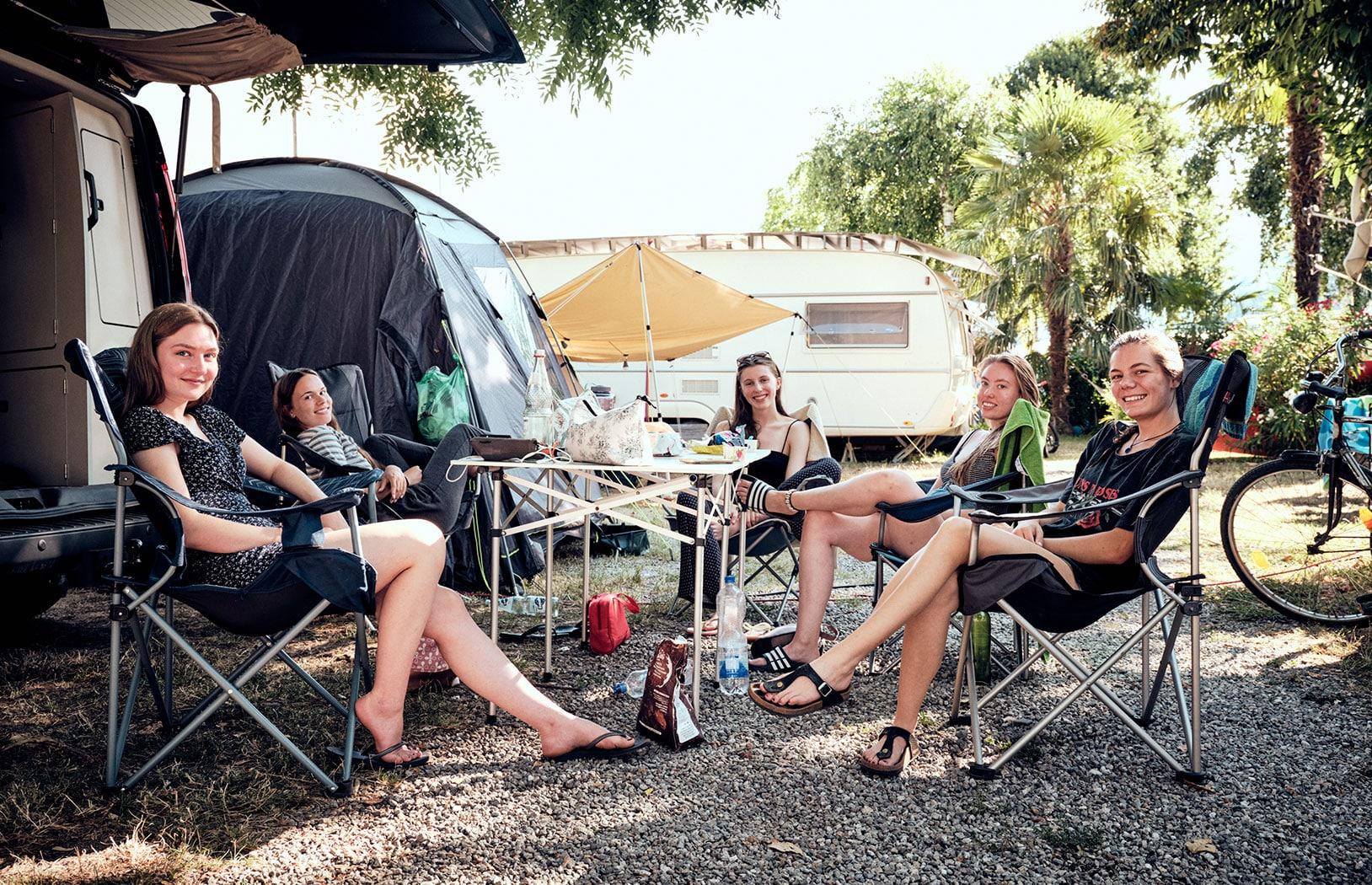Zelten und Campen am Lago Maggiore