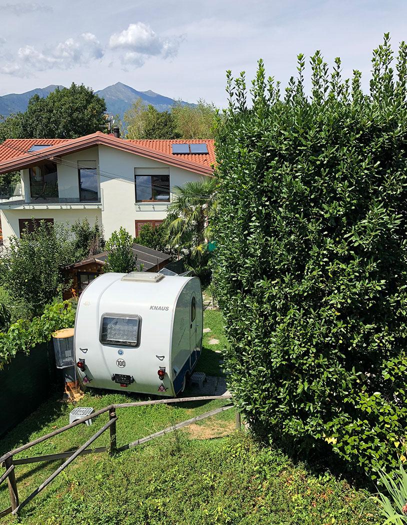 Casa Sabina – Ausblick Camping