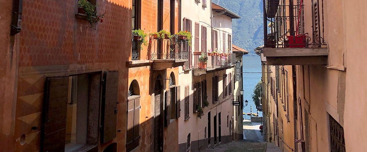 Gassen und Wege in Cannobio
