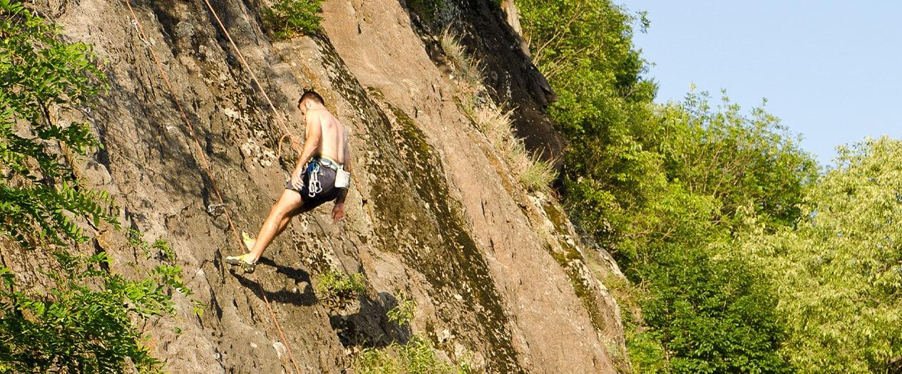 Klettern in Locarno