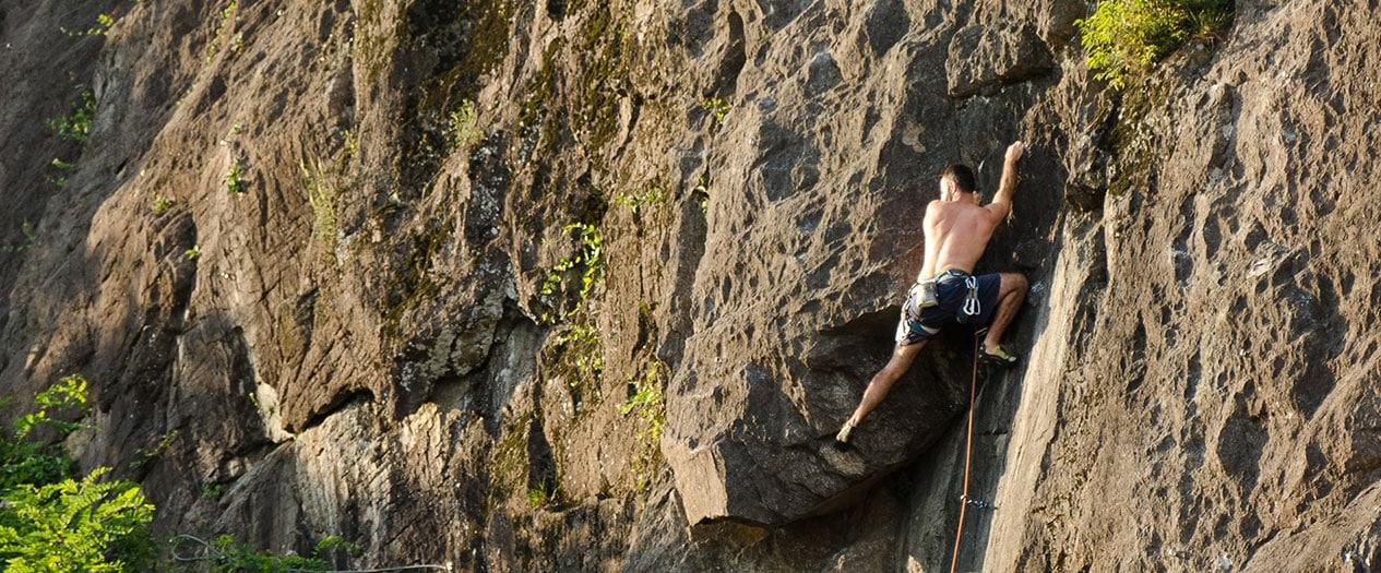 Klettern rund um den Lago Maggiore