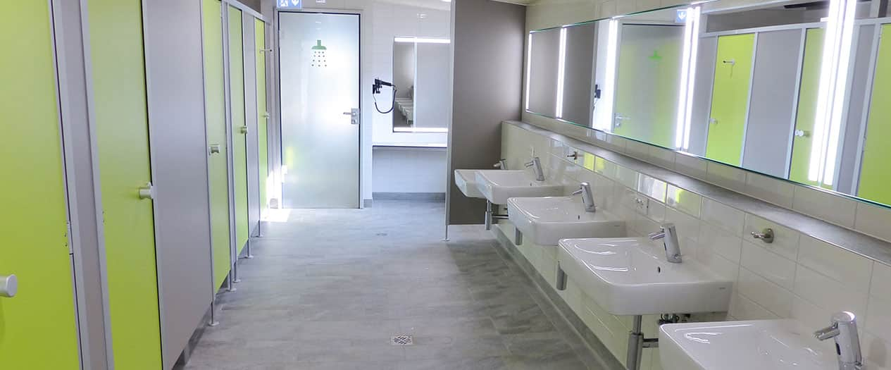 Nachhaltige Sanitäre Einrichtung