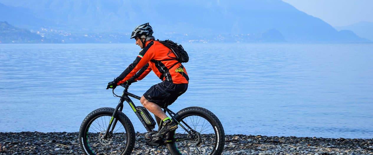 Radfahren am Lago Maggiore