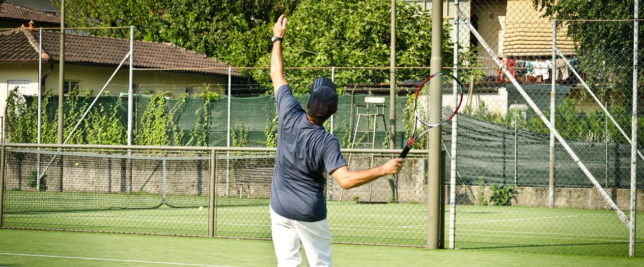 Tennis spielen in Maccagno