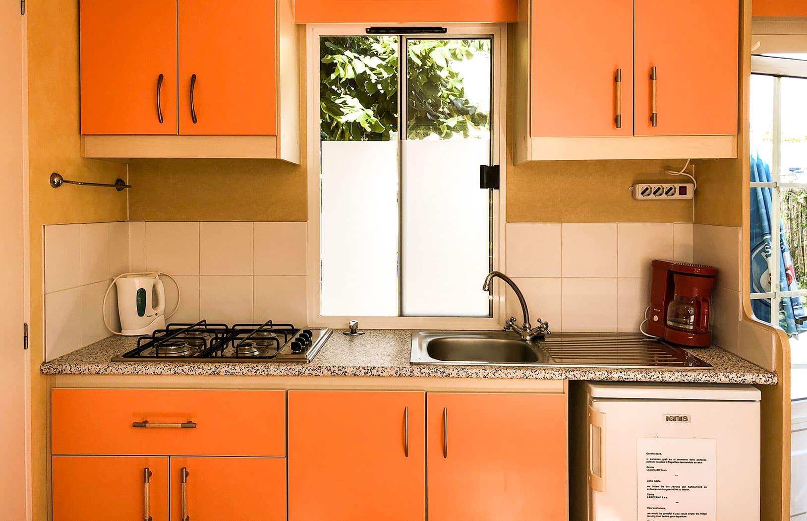 Unsere Chalets – Küche