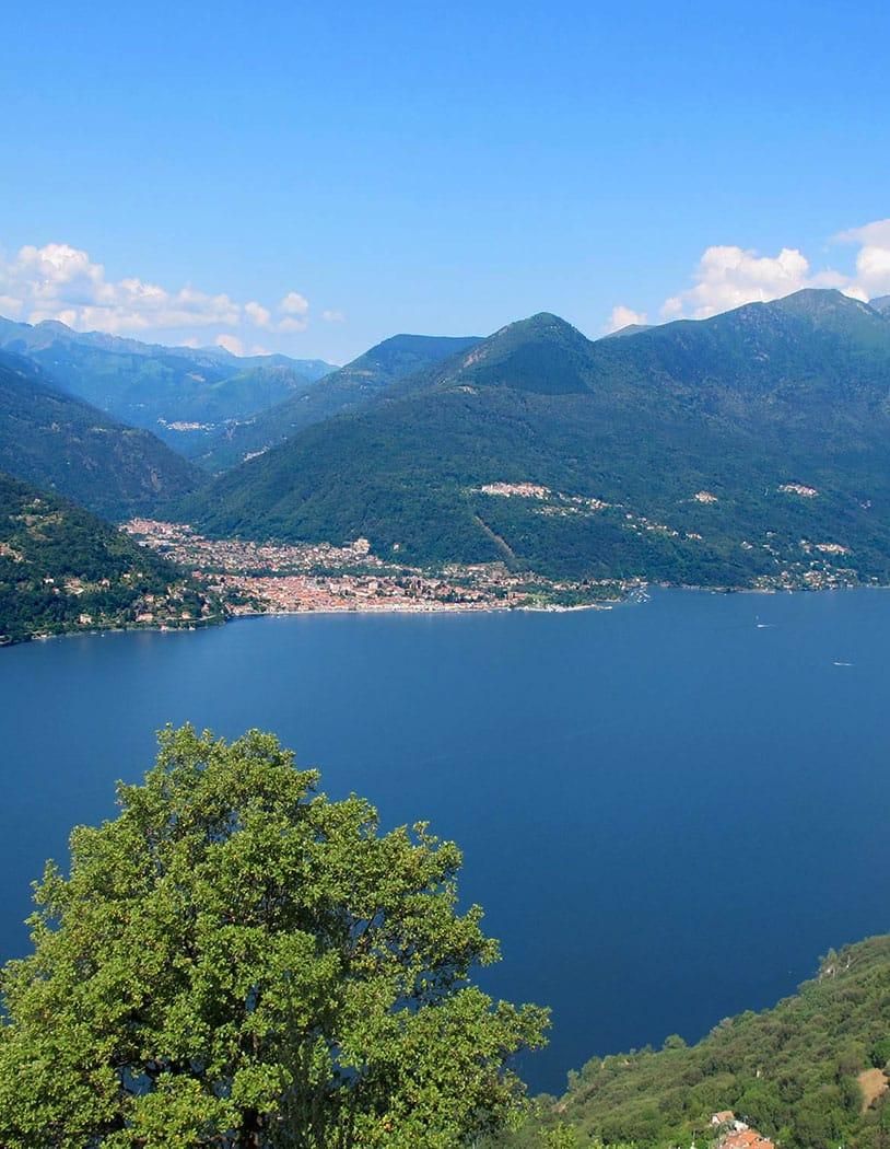 Die traumhafte Landschaft des Lago Maggiores