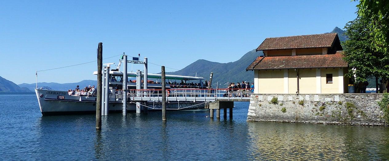Fähren Fahrten auf dem Lago Maggiore