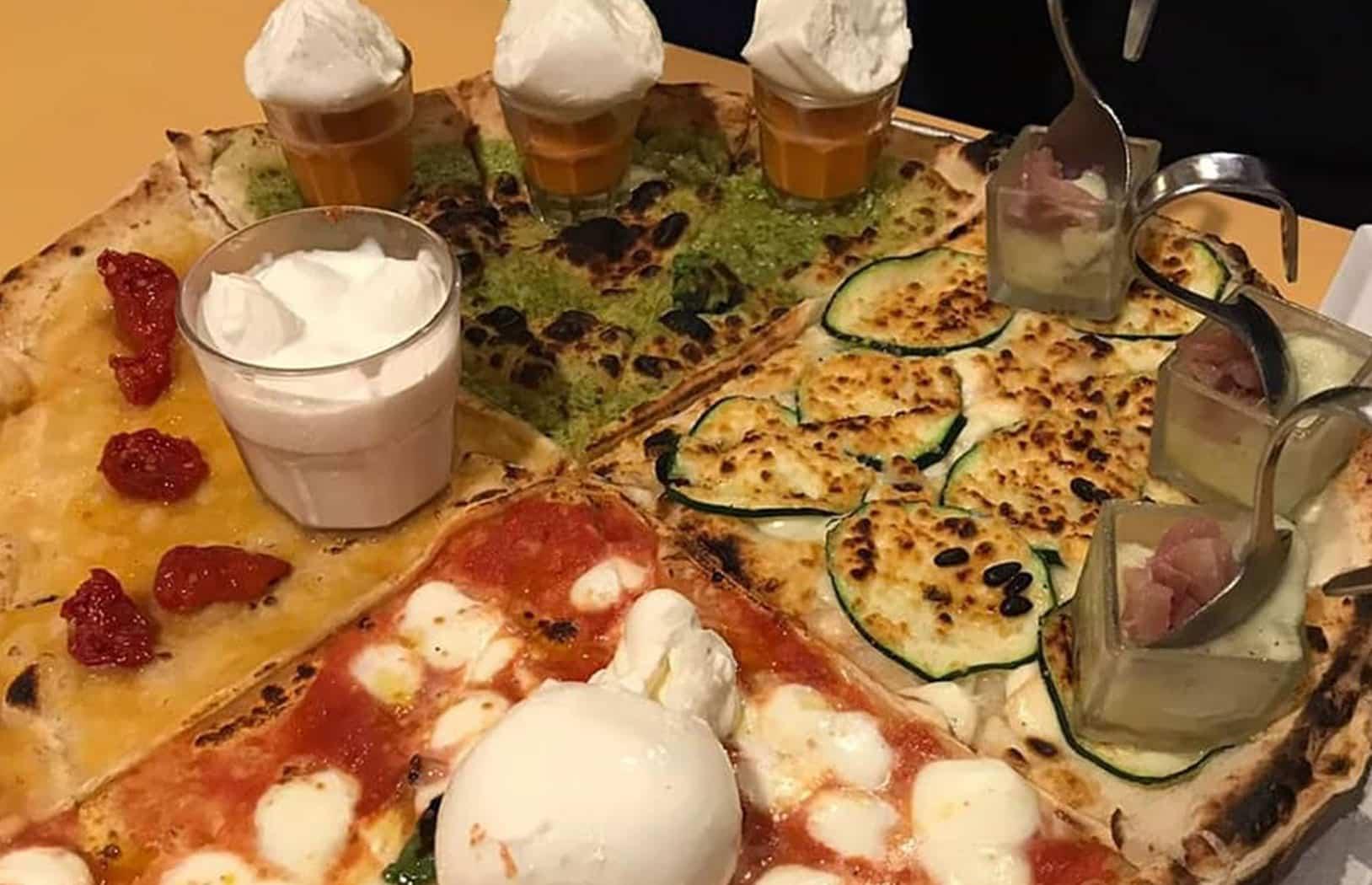 Pizza Restaurants am Lago Maggiore